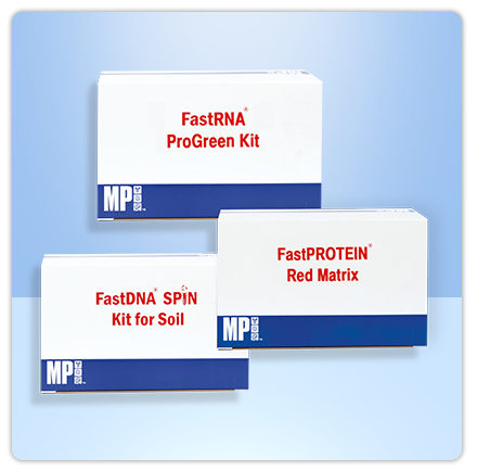 Visuel de FastPrep® Kits d'extraction et de purification Kits d'extraction et de purification DNA/RNA et protéines